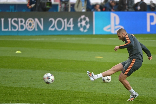 Real Madrid Benzema Francia Focus