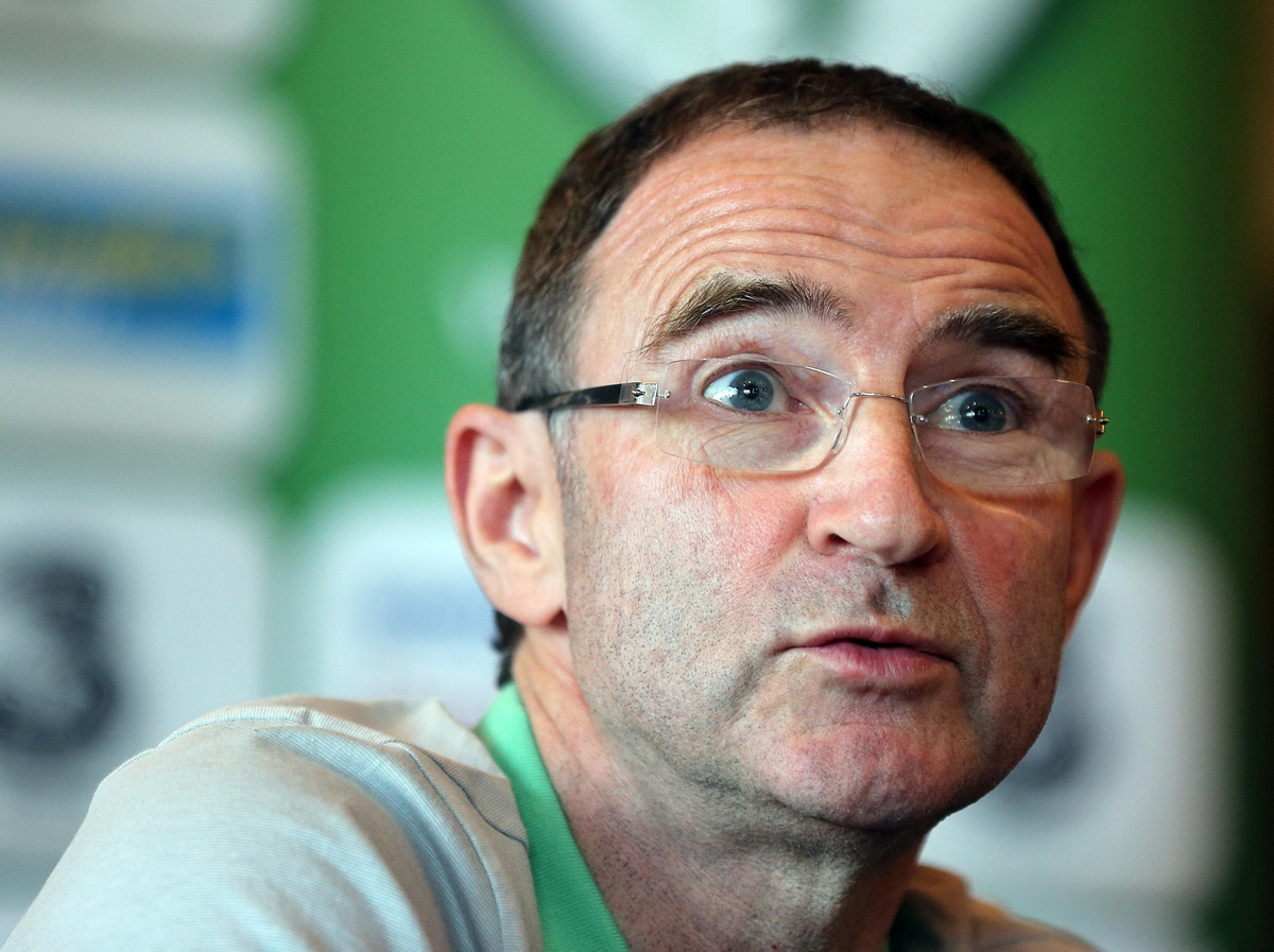 Picture by Lorraine O'Sullivan/Focus Images Ltd +353 872341234 12/11/2013 Martin O'Neill pictured during the Republic of Ireland press conference at Grand Hotel, Malahide, Dublin.