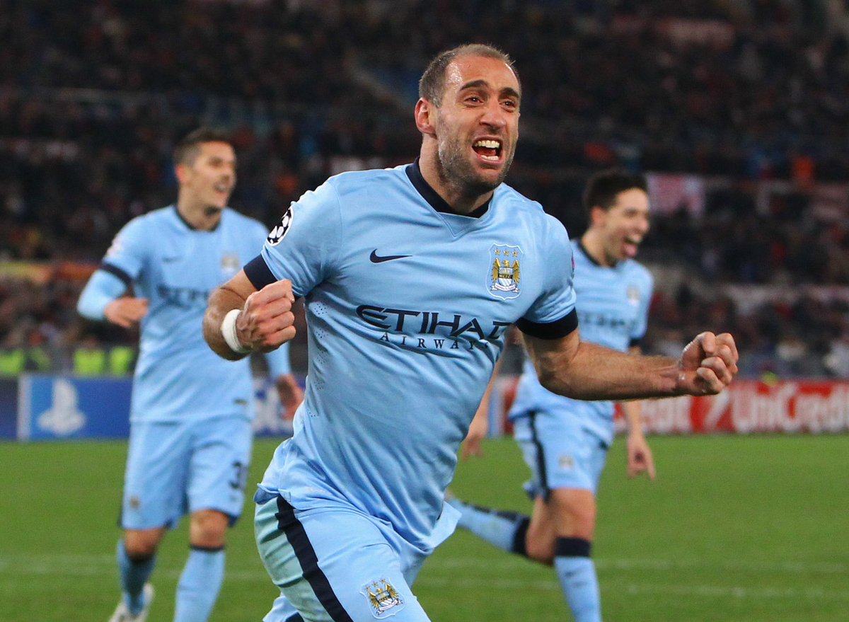 Zabaleta Manchester City Focus