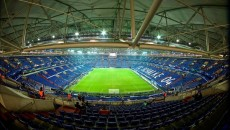 General view of the stadium pictured ahead of the UEFA Champions League match at Veltins-Arena, Gelsenkirchen Picture by Ian Wadkins/Focus Images Ltd +44 7877 568959 18/02/2015