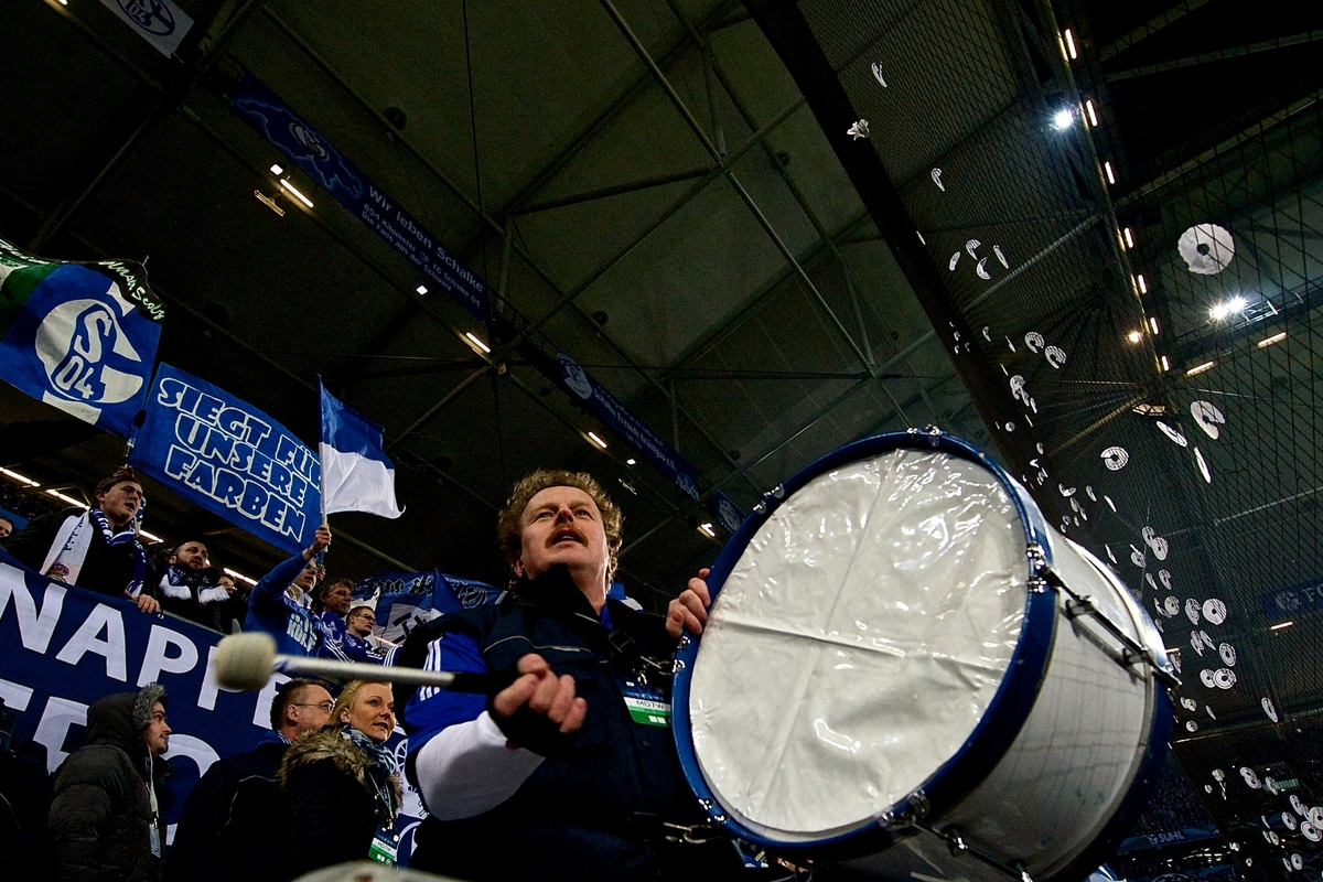 FC Schalke 04 v Real MadridUEFA Champions League