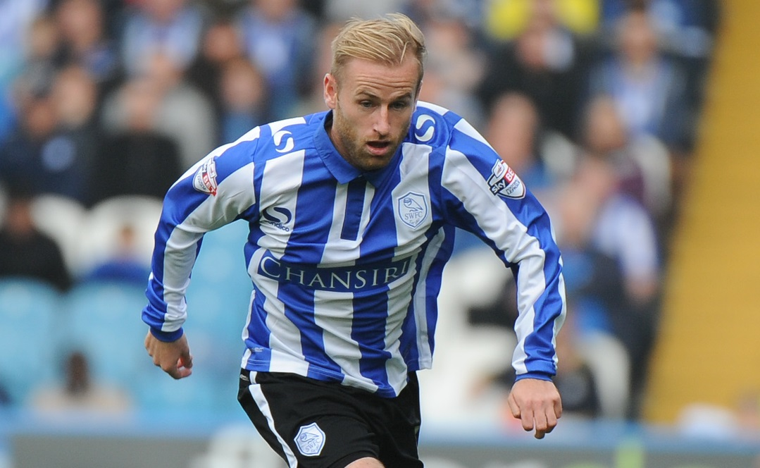 Barry Bannan of Sheffield Wednesday during the Sky Bet Championship match at Hillsborough, Sheffield Picture by Richard Land/Focus Images Ltd +44 7713 507003 03/10/2015