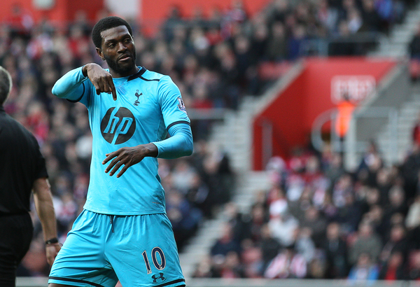 Tottenham Adebayor Sherwood Focus