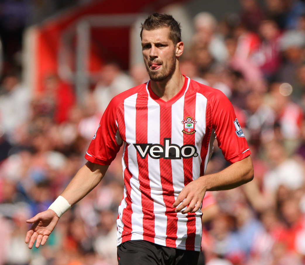 Morgan Schneiderlin of Southampton during the Barclays Premier League match at the St Mary's Stadium, Southampton Picture by Tom Smith/Focus Images Ltd 07545141164 23/08/2014