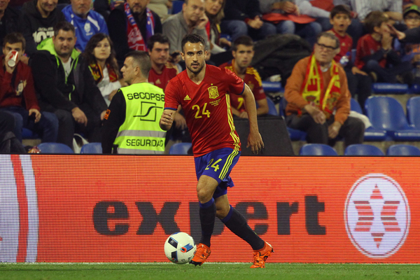 Mario Gaspar of Spain in action during the International Friendly match at Estadio José Rico Pérez, Alicante Picture by Paul Chesterton/Focus Images Ltd +44 7904 640267 13/11/2015