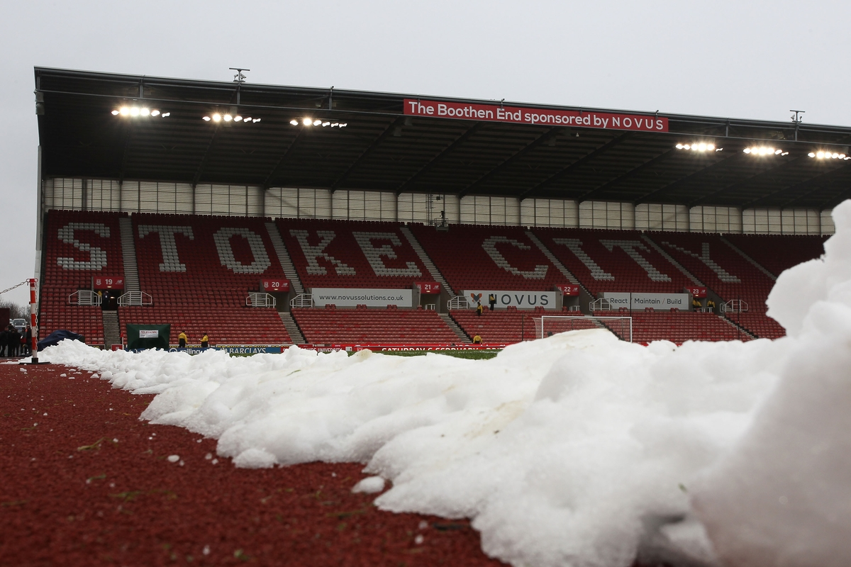 General view of the Britannia Stadium prior to the Barclays Premier League match between Stoke City and Arsenal, Stoke-on-Trent. Picture by Michael Sedgwick/Focus Images Ltd +44 7900 363072 17/01/2016
