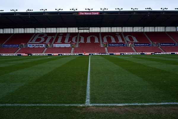 Stoke City v Liverpool Barclays Premier League Britannia Focus