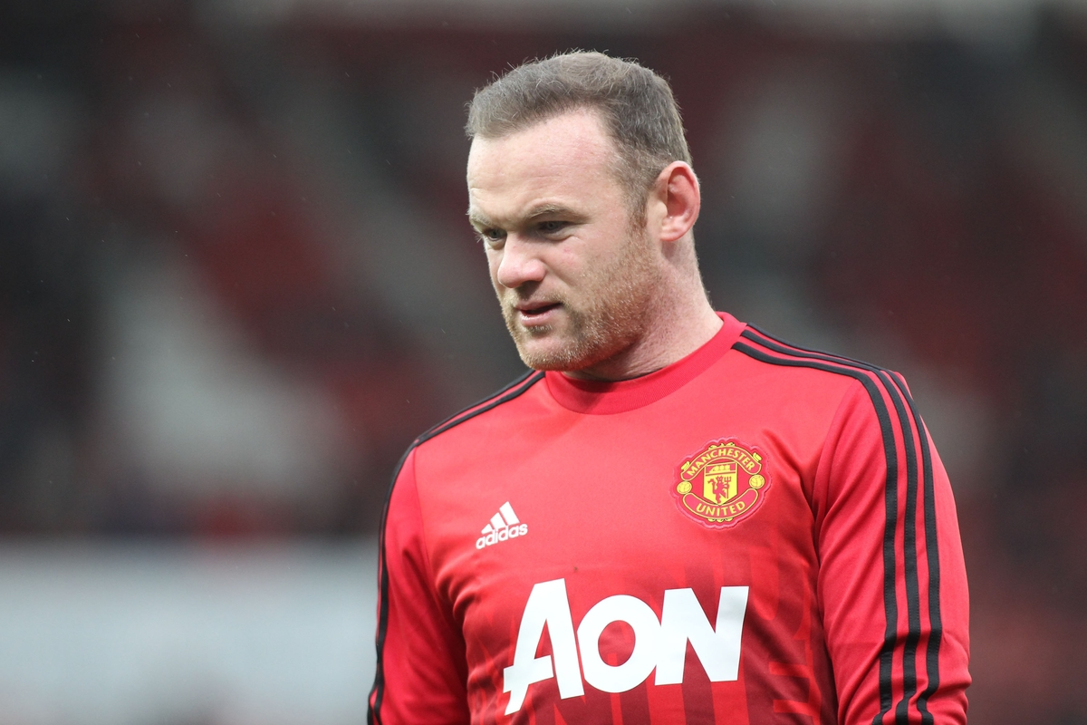 Wayne Rooney of Manchester United prior to the Barclays Premier League match against Stoke City at the Britannia Stadium, Stoke-on-Trent. Picture by Michael Sedgwick/Focus Images Ltd +44 7900 363072 26/12/2015