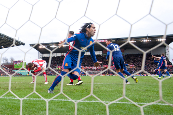Falcao manchester United focus