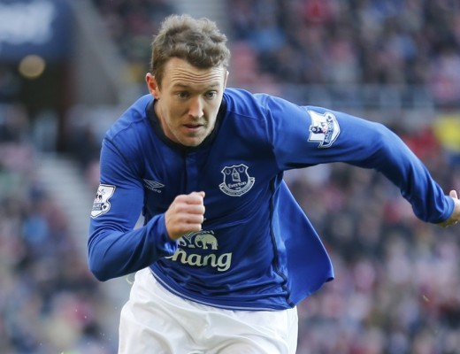 Aidan McGeady of Everton during the Barclays Premier League match at the Stadium Of Light, Sunderland Picture by Simon Moore/Focus Images Ltd 07807 671782 09/11/2014