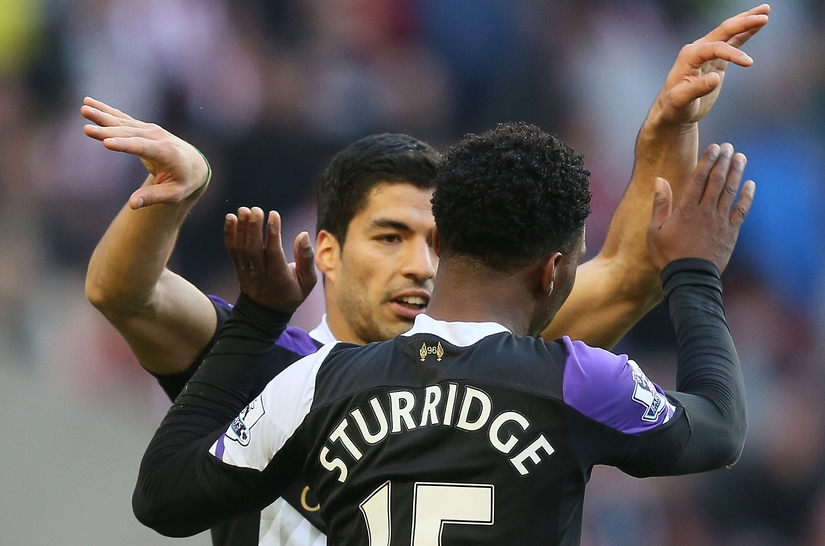 Suárez Sturridge Liverpool Focus