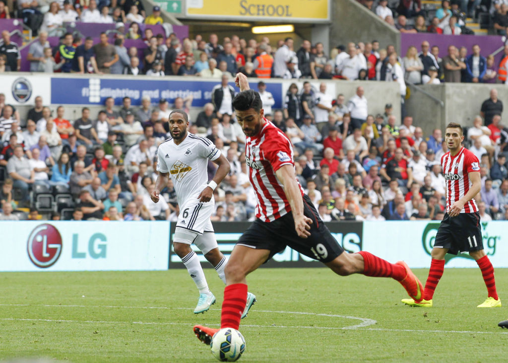 Swansea City v SouthamptonBarclays Premier League