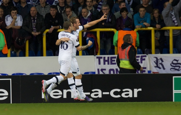 Harry Kane abrió la lata. Foto: Focus Images Ltd.
