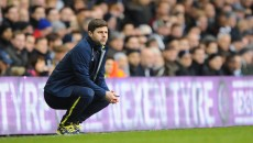 Mauricio Pochettino of Tottenham Hotspur during the Barclays Premier League match at White Hart Lane, London Picture by Seb Daly/Focus Images Ltd +447738 614630 06/12/2014