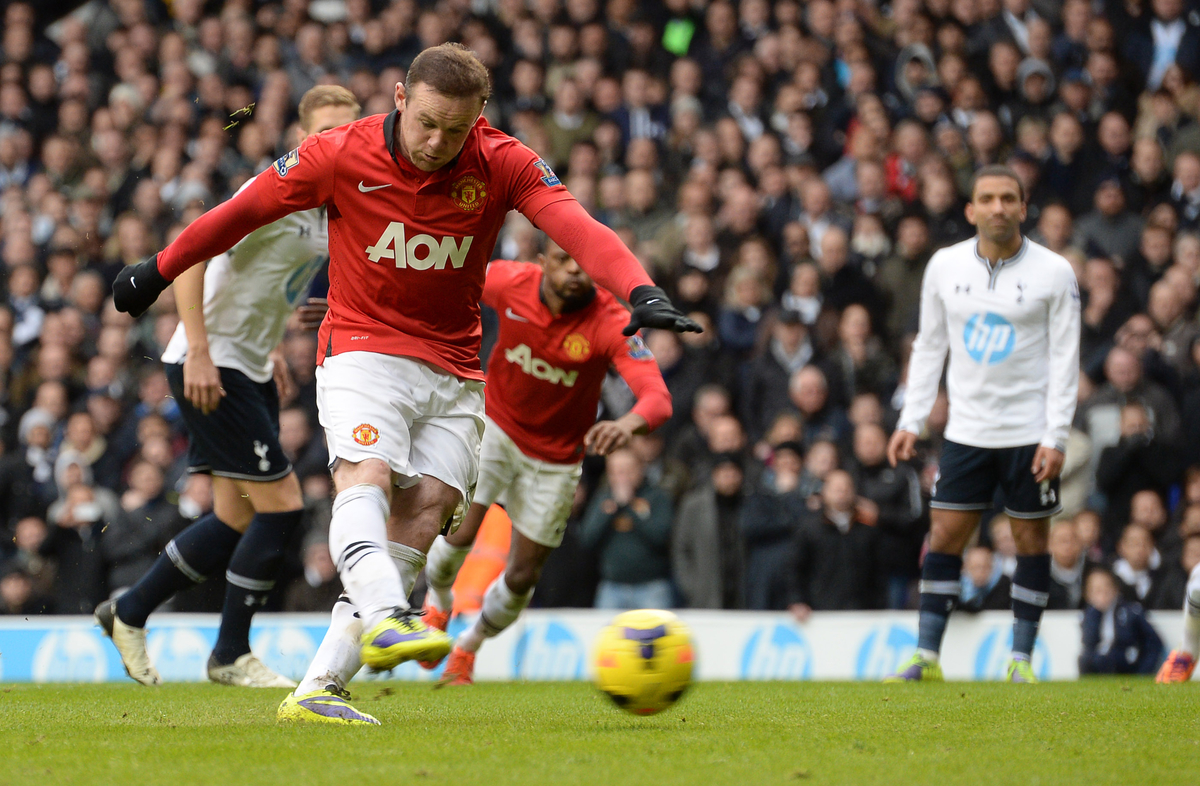 Rooney United Tottenham Focus
