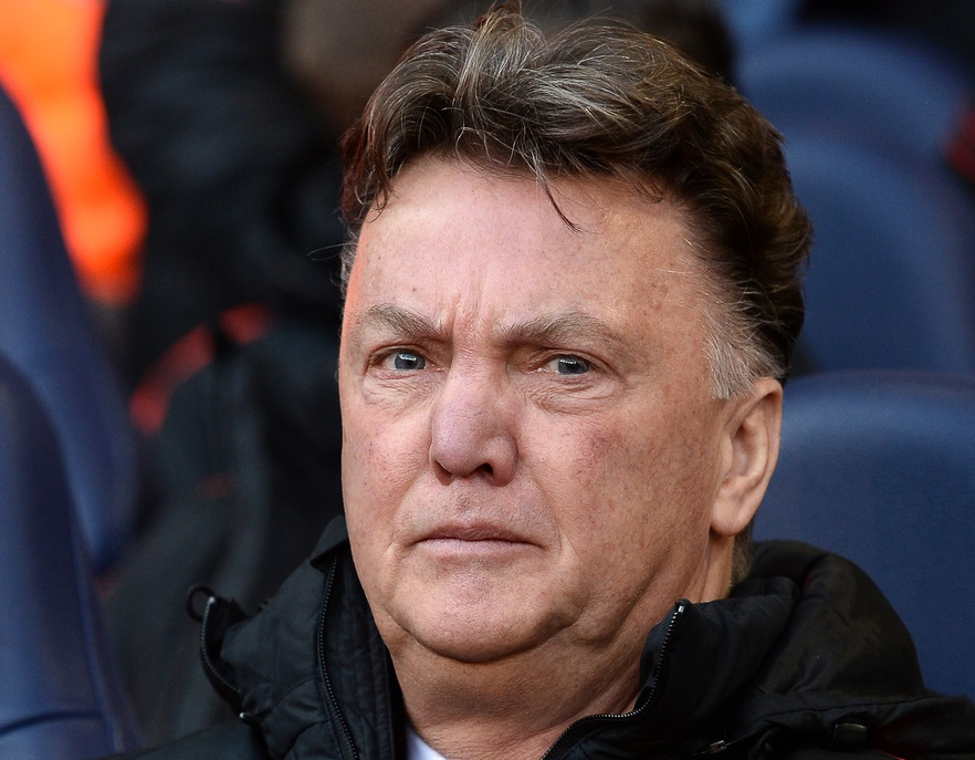 Manager of Manchester United Louis Van Gaal during the Barclays Premier League match against Tottenham Hotspur at White Hart Lane, London Picture by Andrew Timms/Focus Images Ltd +44 7917 236526 28/12/2014