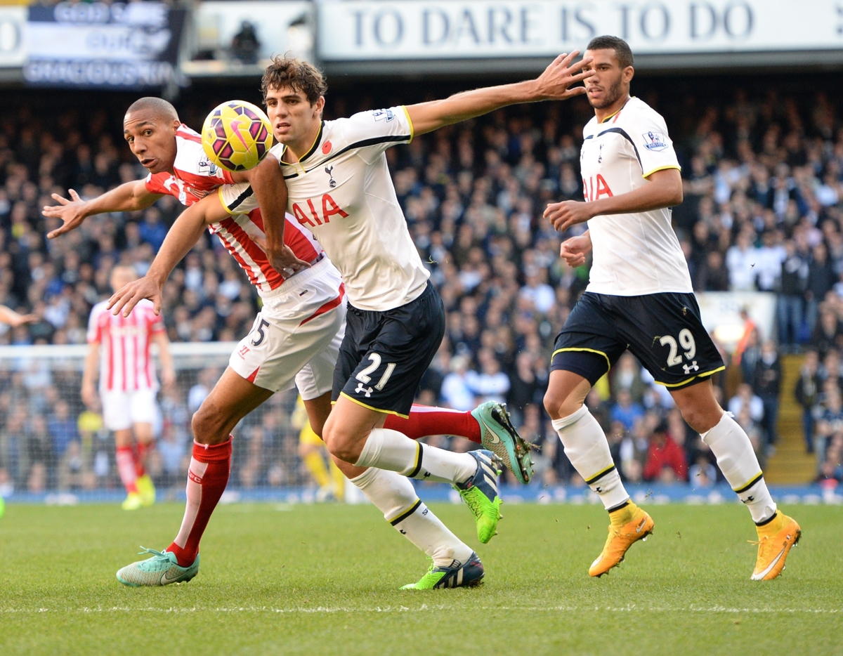 Tottenham Hotspur v Stoke City Barclays Premier League