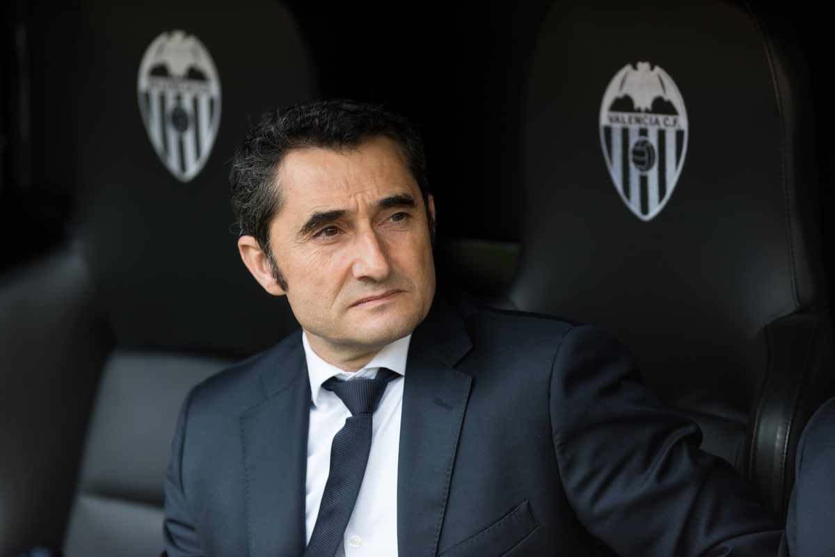 Ernesto Valverde head coach of Athletic Bilbao during the La Liga match at Mestalla, Valencia Picture by Maria Jose Segovia/Focus Images Ltd +34 660052291 28/02/2016