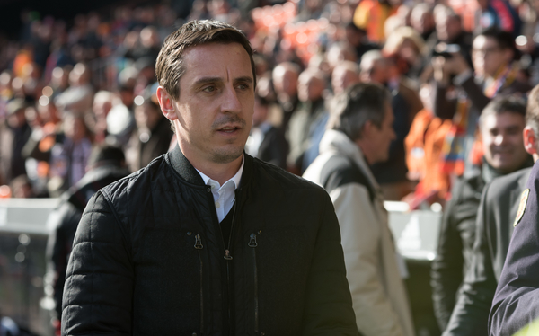 Gary Neville, head coach of Valencia during the La Liga match at Mestalla, Valencia Picture by Maria Jose Segovia/Focus Images Ltd +34 660052291 17/01/2016