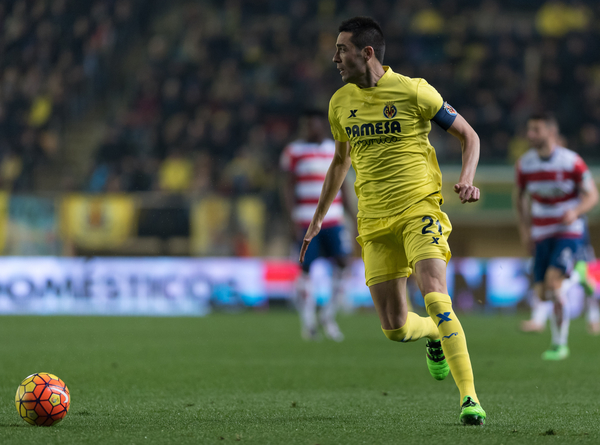 Bruno Soriano of Villarreal CF during the La Liga match at Estadio El Madrigal, Villarreal Picture by Maria Jose Segovia/Focus Images Ltd +34 660052291 30/01/2016