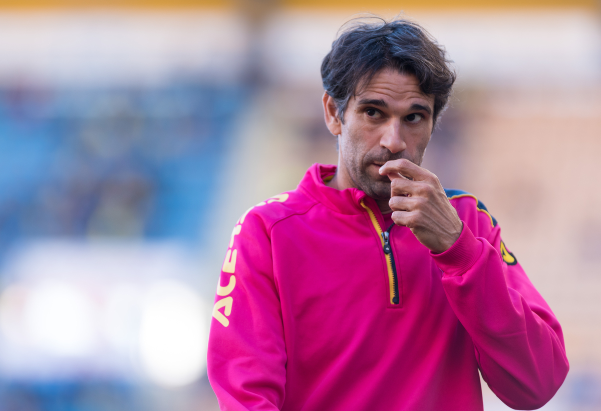 Juan Carlos Valeron of UD Las Palmas during the La Liga match at Estadio El Madrigal, Villarreal Picture by Maria Jose Segovia/Focus Images Ltd +34 660052291 05/03/2016