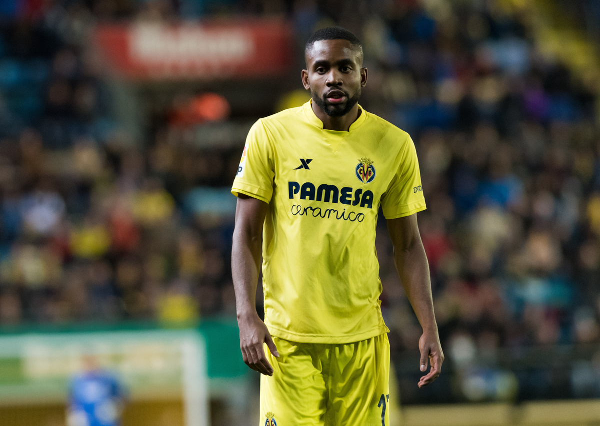 Cedric Bakamb of Villarreal CF during the La Liga match at Estadio El Madrigal, Villarreal Picture by Maria Jose Segovia/Focus Images Ltd +34 660052291 05/03/2016