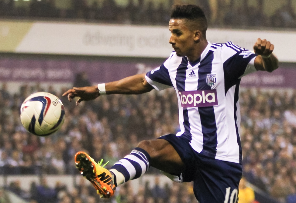 Scott Sinclair West Brom WBA focus