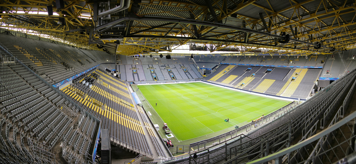 General views of Westfalenstadion, home of Borussia Dortmund Picture by Richard Calver/Focus Images Ltd +447792 981244 07/04/2014
