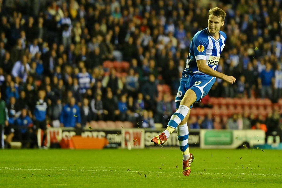 Wigan Athletic Nick Powell Focus