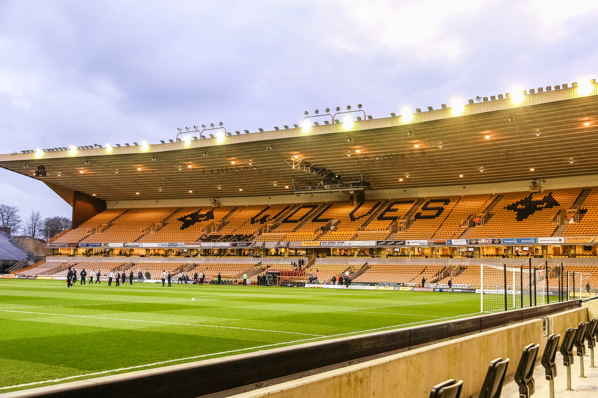 A general view of the stadium before the Sky Bet Championship match at Molineux, Wolverhampton Picture by Andy Kearns/Focus Images Ltd 0781 864 4264 20/03/2015