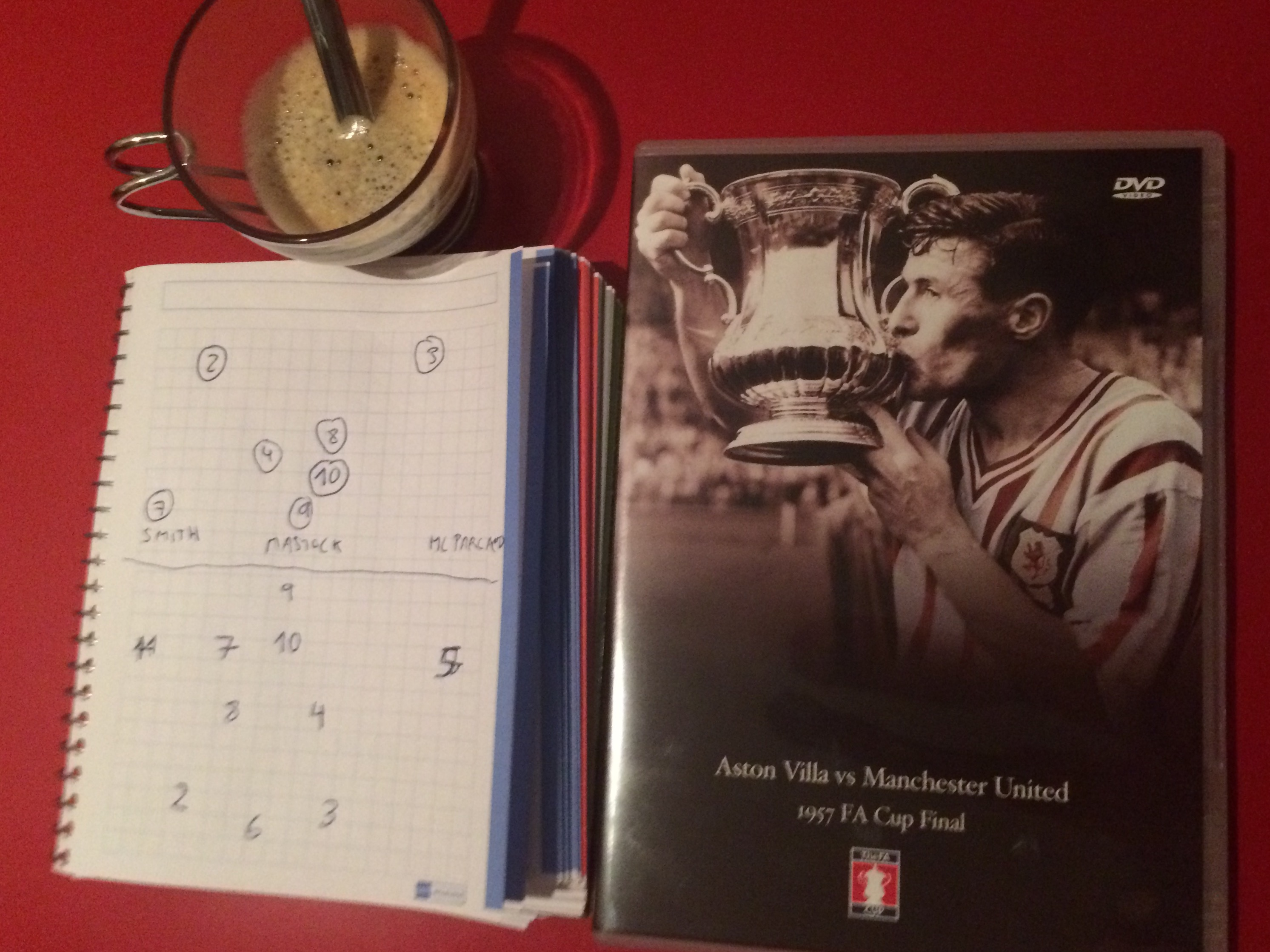 Final FA Cup 1957 Aston Villa Manchester United