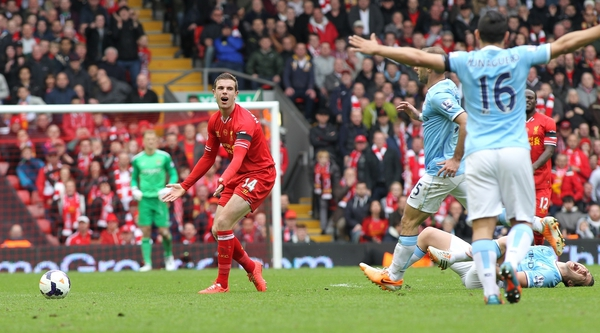 Liverpool v Manchester CityBarclays Premier League