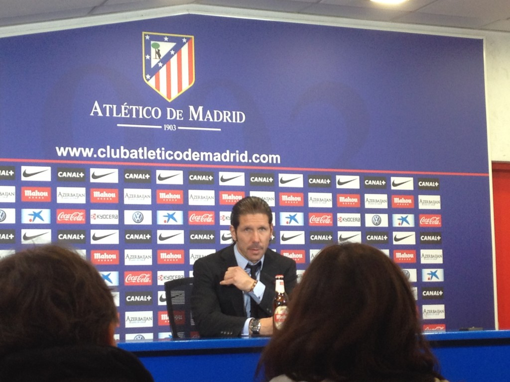 Simeone Marcadorint Atletico