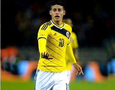 James Rodríguez Colombia - MULADAR NEWS