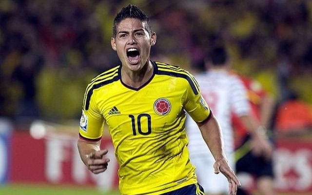 James Rodríguez Colombia - calciostreaming