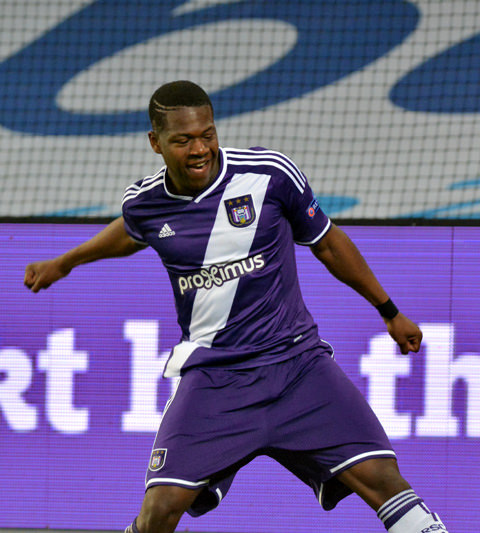 Leya Iseka Anderlecht Youth - http://www.rsca.be