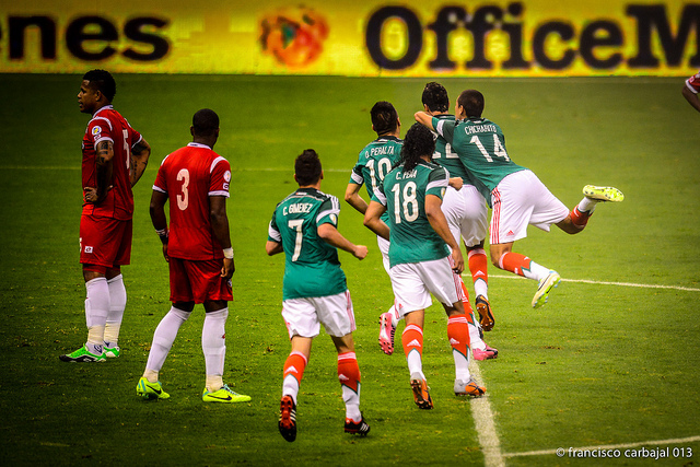 México vs Panama Foto:Francisco Carbajal