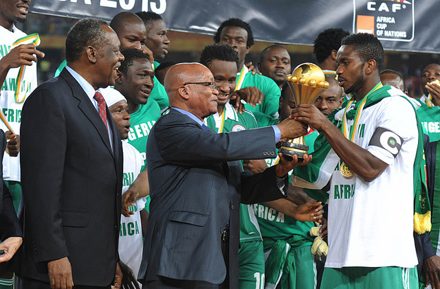 Nigeria campeon GovernmentZA