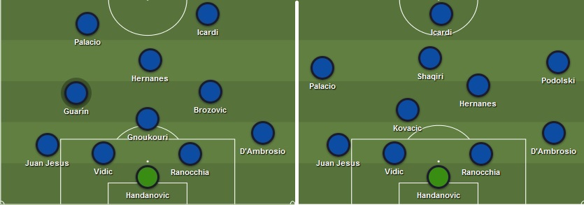 XI Inter vs Roma