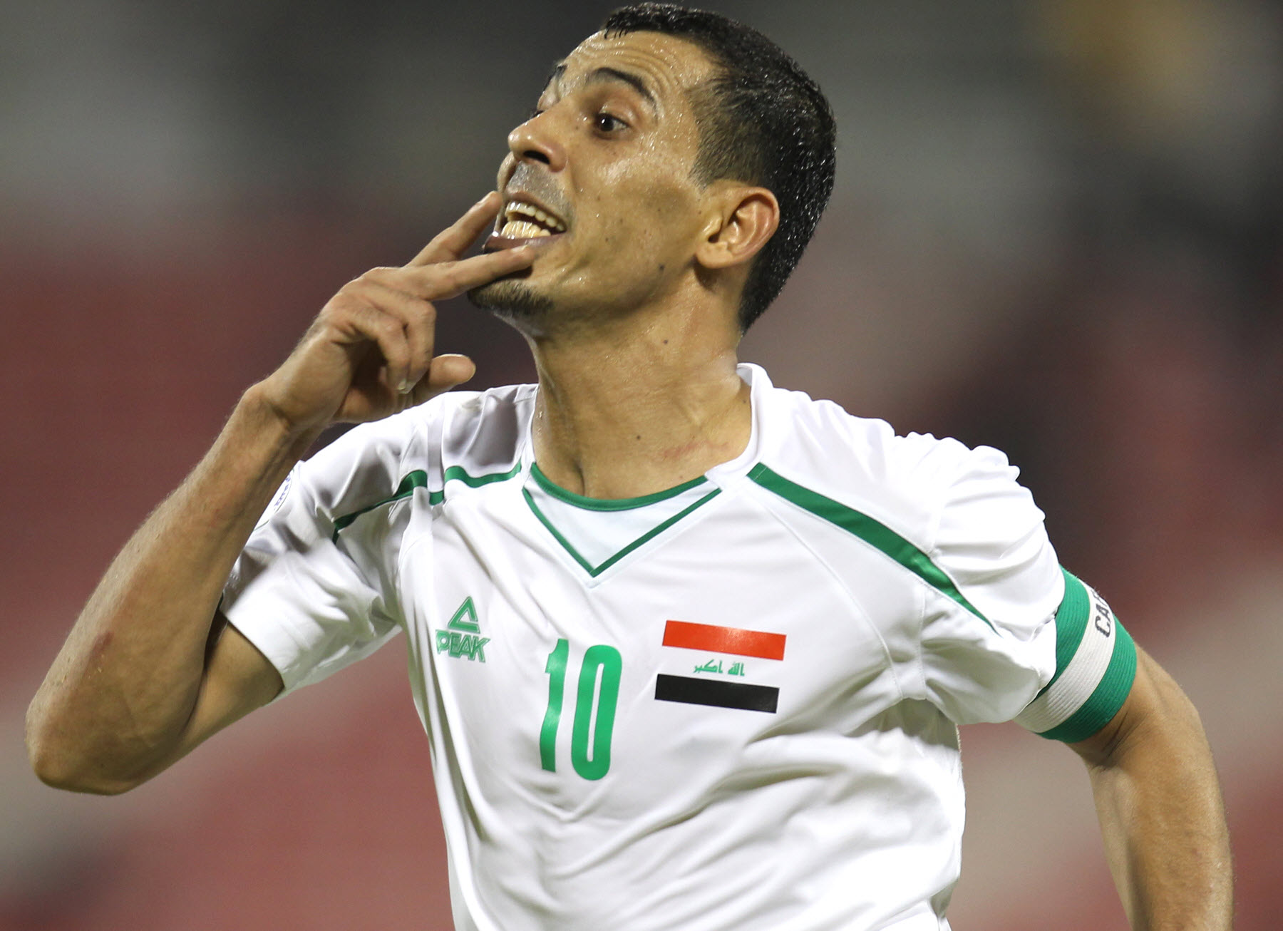 Younis Mahmoud Irak Doha Stadium Plus Qatar
