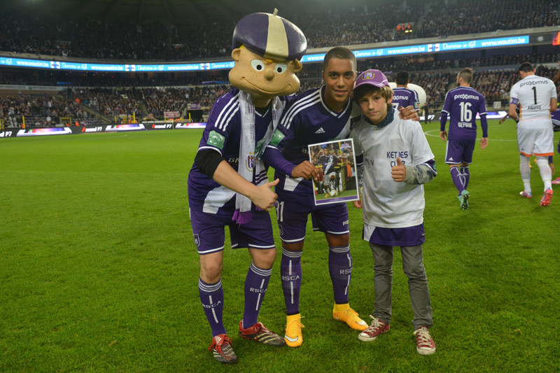 Youri Tielemans Anderlecht - (www.rsca.be)