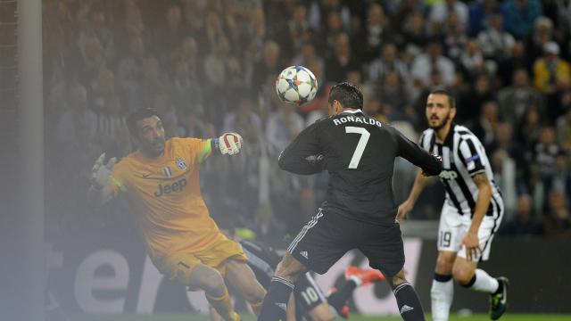 Juventus v Real Madrid UEFA Champions League