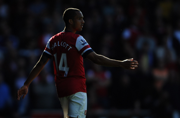 Walcott ha estado dos meses de baja (Foto: Focus Images Ltd)